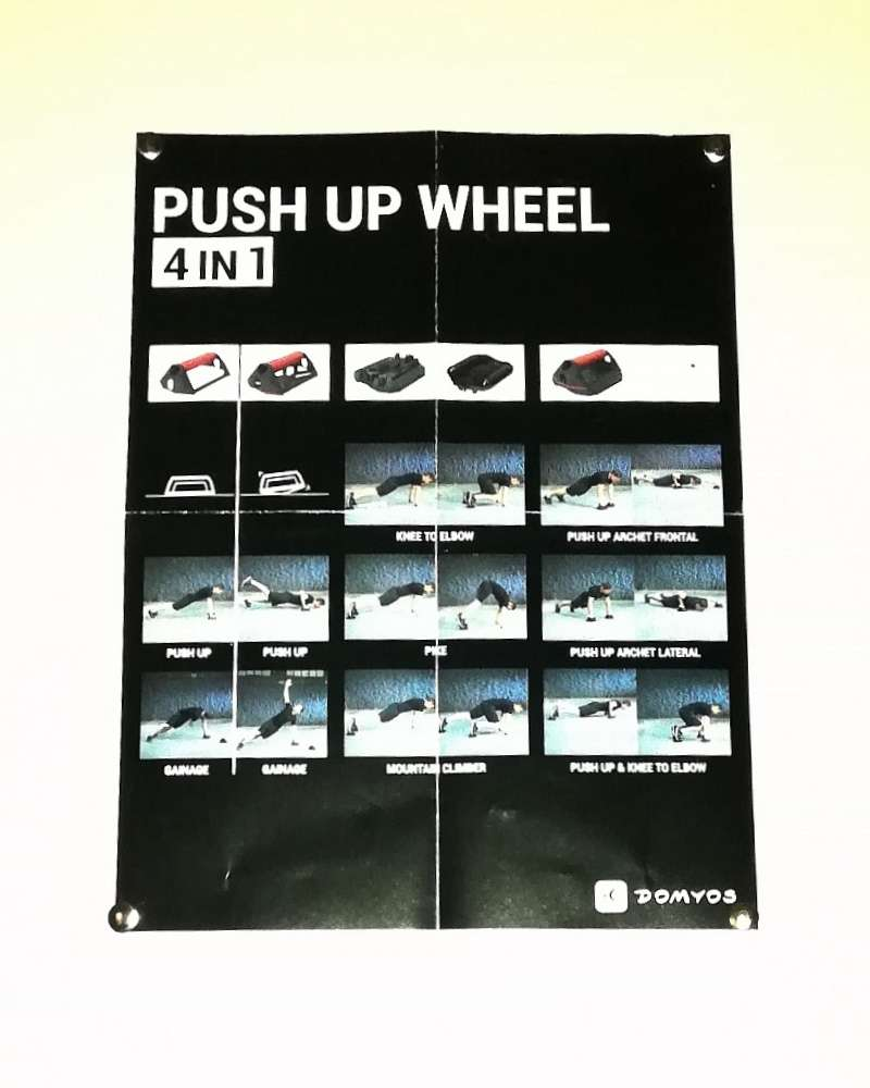 Imagen producto Push Up Wheel + Guantes De Entrenamiento. 2