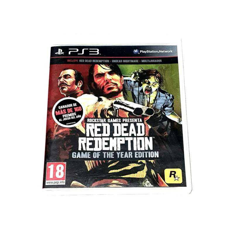 Imagen PS3 Red Dead Redemption: Game Of The Year