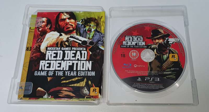 Imagen producto PS3 Red Dead Redemption: Game Of The Year 2
