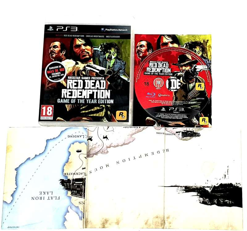 Imagen producto PS3 Red Dead Redemption: Game Of The Year 3