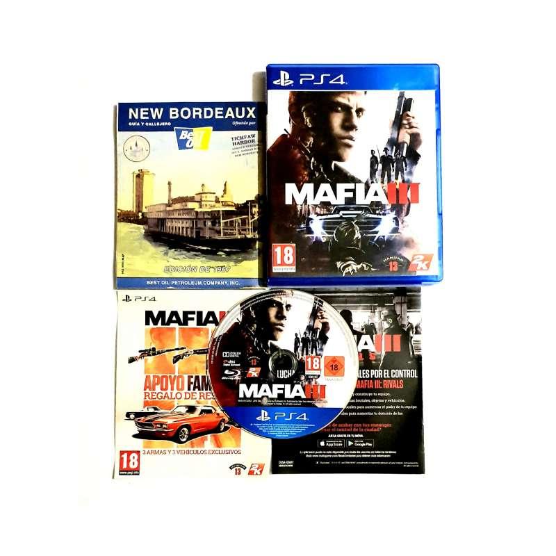 Imagen Mafia III Videojuego Para PS4, PlayStation