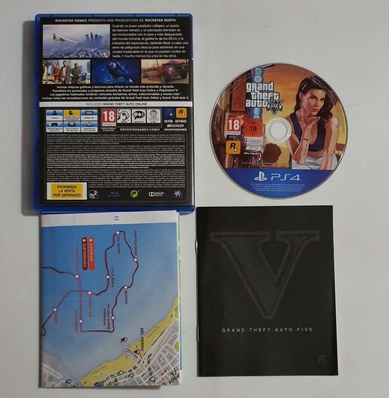Imagen producto Grand Theft Auto V Videojuego Para PS4 PlayStation 2