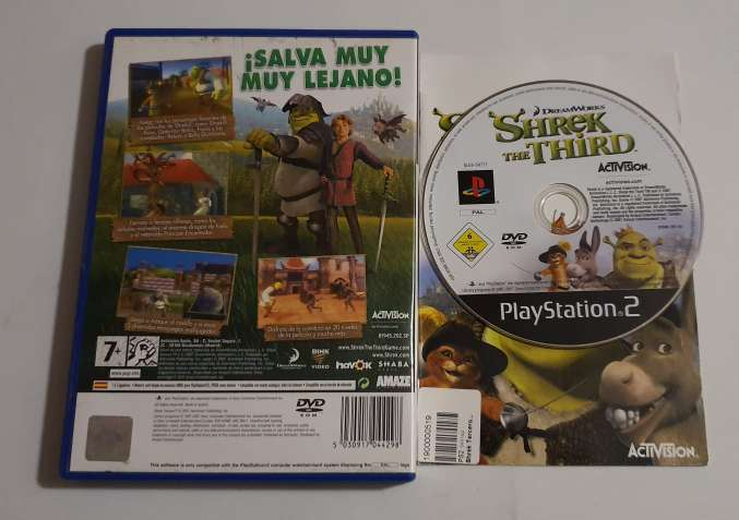 Imagen producto Shrek 3 -  PS2  2