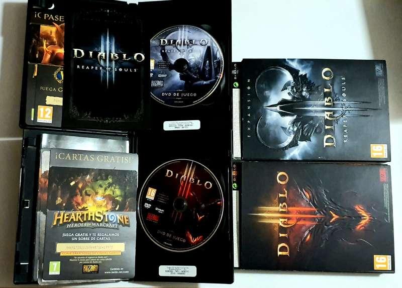 Imagen producto Lote Diablo - El Videojuego, PC  3