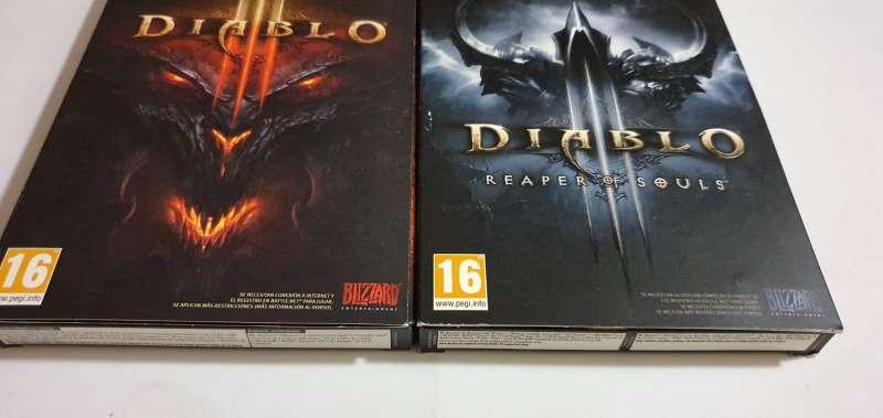 Imagen producto Lote Diablo - El Videojuego, PC  2