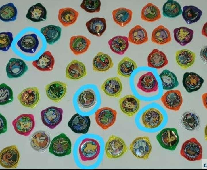 Imagen producto 55 Tazos Pokémon Kraks De Panini 2