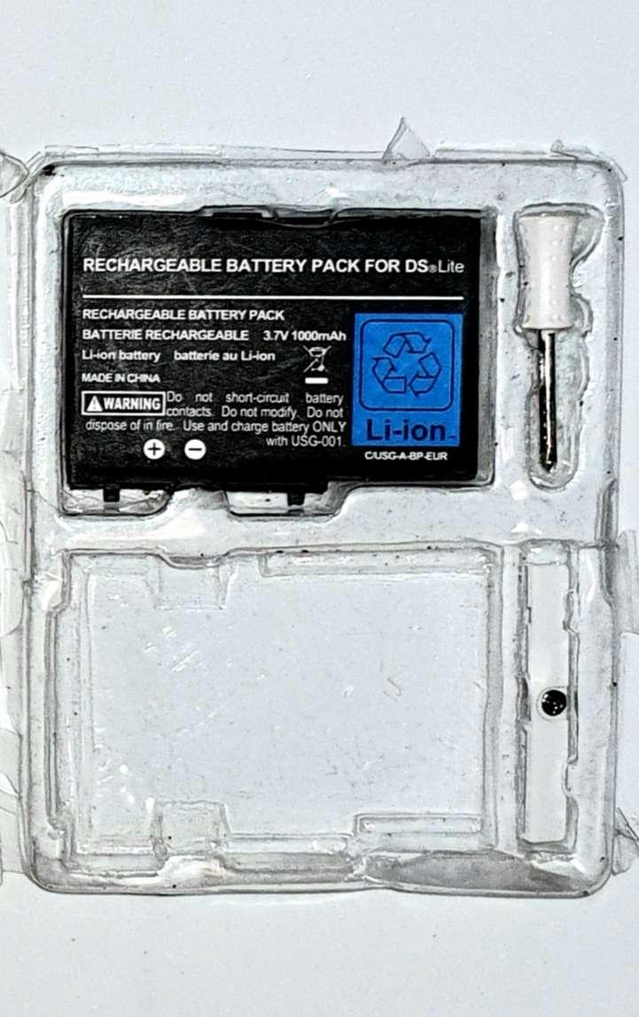 Imagen producto Nintendo DS Lite, Batería De Repuesto Nueva 2
