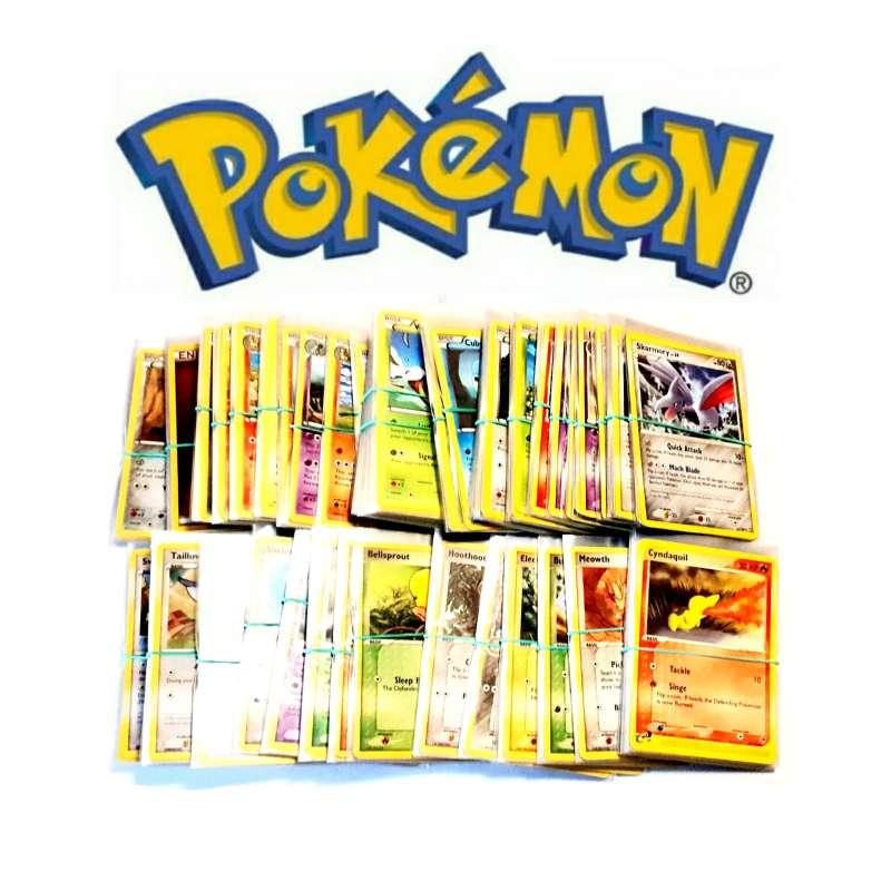 Imagen Cartas Pokémon TCG Antiguas, Ordenadas Y En Funda