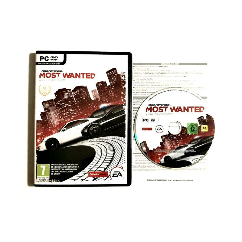 Imagen Need For Speed: Most Wanted El Videojuego, PC