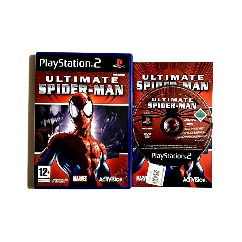 Imagen Ultímate Spider-man Videojuego Marvel PS2, Play