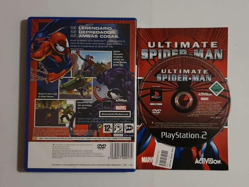 Imagen producto Ultímate Spider-man Videojuego Marvel PS2, Play 2