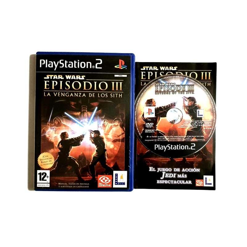 Imagen Star Wars III 3 - El Videojuego PS2 [PlayStation2]