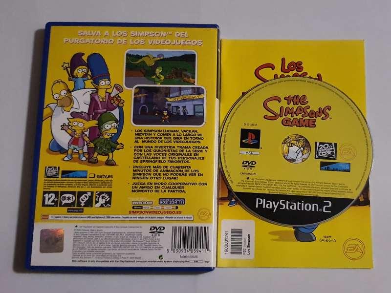 Imagen producto Los Simpson -PS2  2