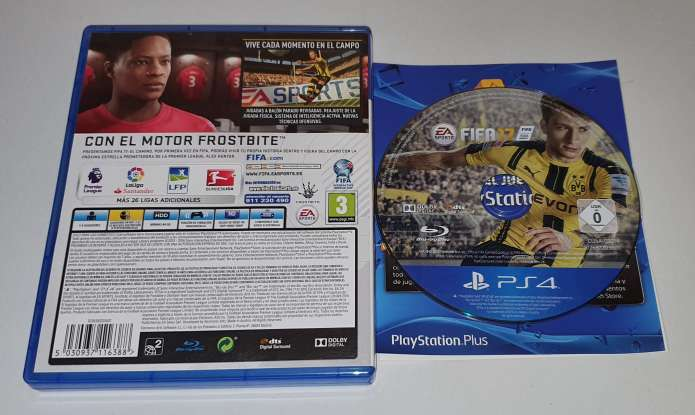 Imagen producto FIFA 2017, Videojuego Para PS4 Playstation 4 2