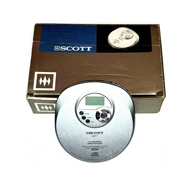 Imagen Reproductor CD Portátil, Discman En Buen Estado