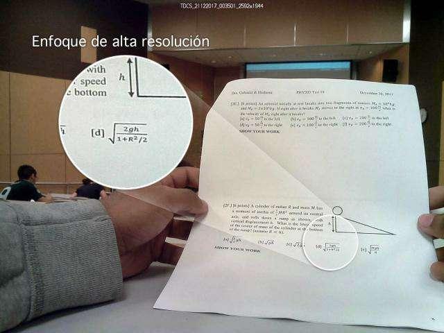 Imagen Cámara espía ayuda estudiantes internet Dropbox oculta botón smartphone android ios router 3G 4G