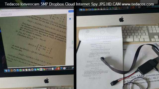 Imagen producto Cámara espía ayuda estudiantes internet Dropbox oculta botón smartphone android ios router 3G 4G 3