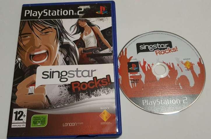 Imagen producto Videojuego Singstar Rocks.  2