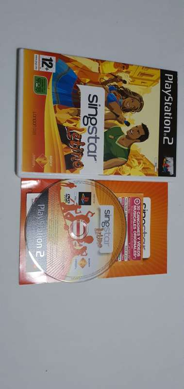 Imagen producto Videojuego Singstar Latino PS2.  3