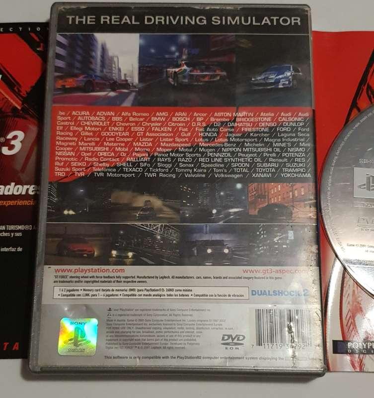 Imagen producto Videojuego Gran Turismo 3 PS2, Para PlayStation 2 2