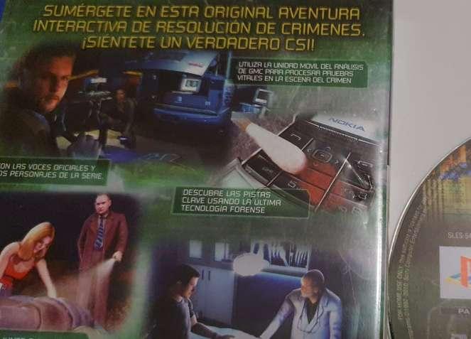 Imagen producto Videojuego CSI Para PS2, Para PlayStation 2 3