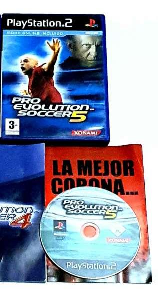Imagen producto Videojuego Pro Evolution Soccer 2005 Para PS2 2