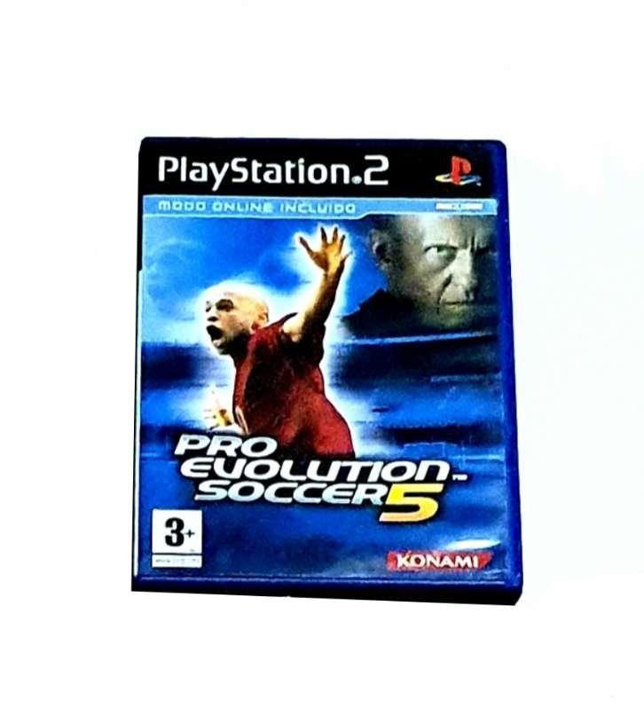 Imagen Videojuego Pro Evolution Soccer 2005 Para PS2