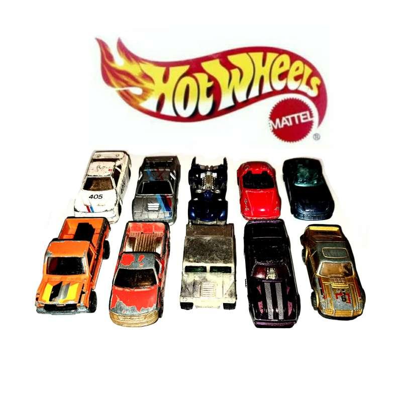 Imagen Hot Wheels, Colección 10 Unidades De Coleccionista