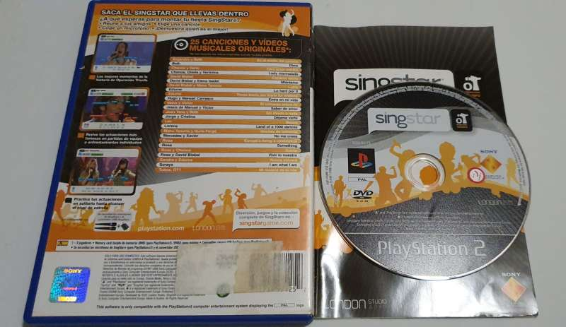 Imagen producto Videojuego Singstar Operacion Triunfo, Para PS2 2