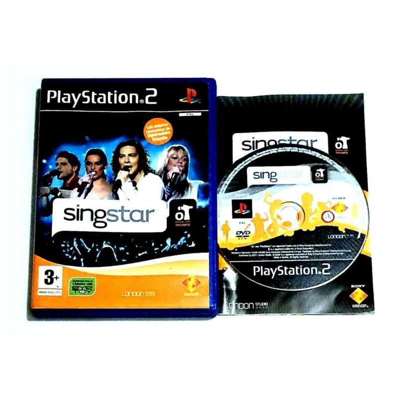 Imagen Videojuego Singstar Operacion Triunfo, Para PS2