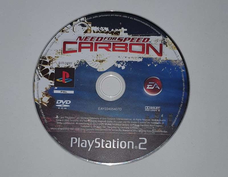 Imagen producto Videojuego Para PS2 Sin Caja Need For Speed Carbón 2