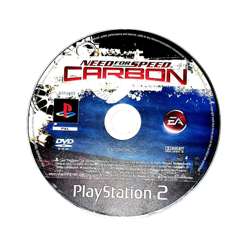 Imagen producto Videojuego Para PS2 Sin Caja Need For Speed Carbón 1