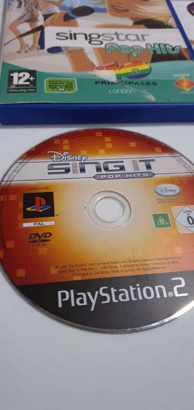 Imagen producto Lote De 2 Juegos Singstar Para PlayStation 2, PS2 2