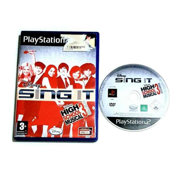 Imagen Videojuego Singstar PS2, Para PlayStation 2