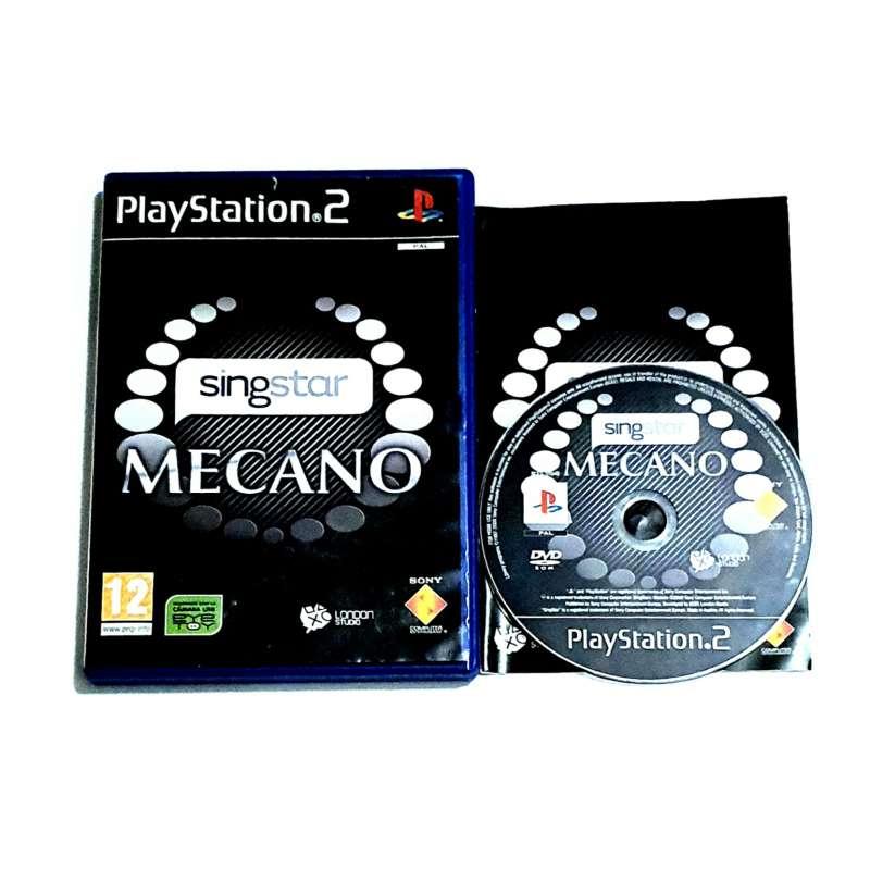 Imagen Videojuego Singstar PS2 Mecano Para PlayStation 2