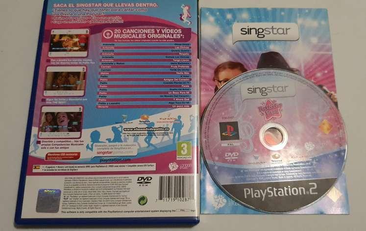 Imagen producto Videojuego Singstar PS2, Patito Feo, PlayStation 2