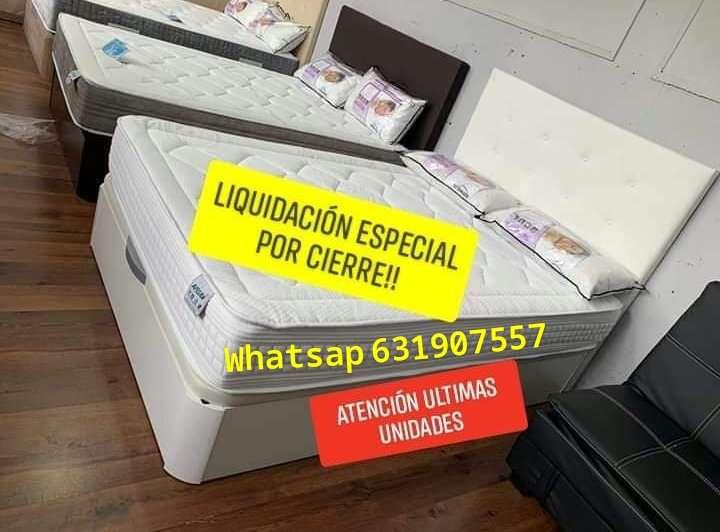 Imagen liquidación en colchones y canapes por cierre!!