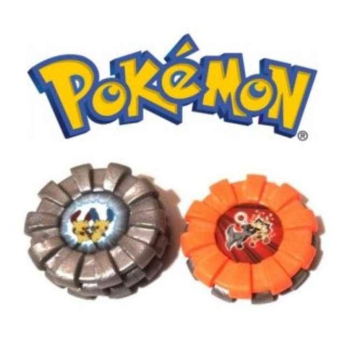 Imagen Lote De 5 Tazos Máster Boinx Pokémon 2007