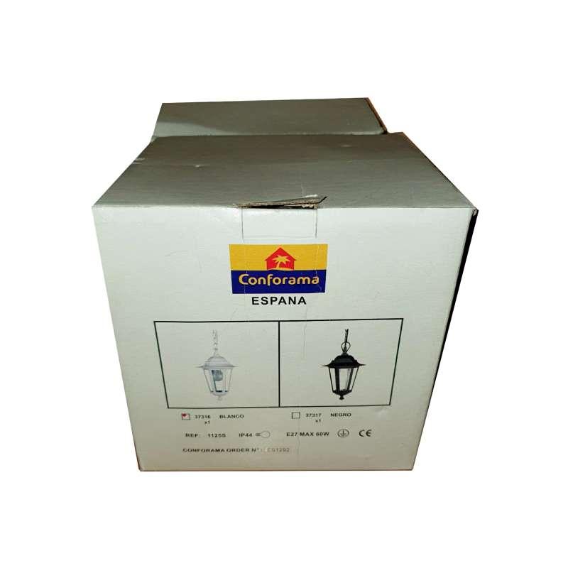 Imagen producto Farolillo Blanco De Fachada, Conforama, 2 Unidades 1