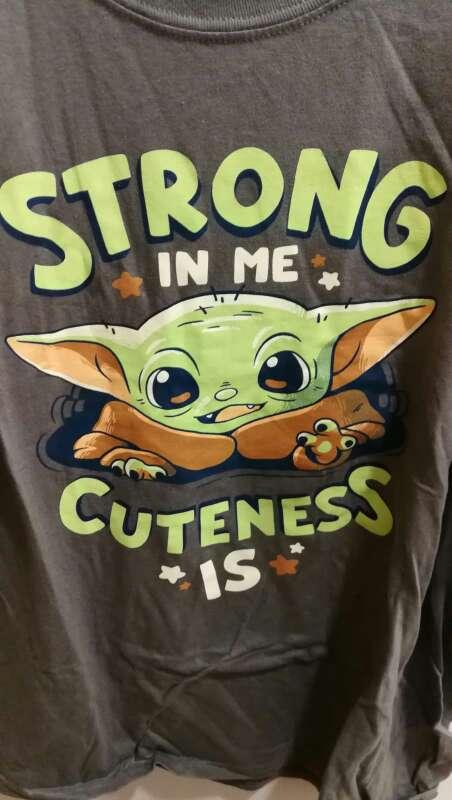 Imagen Camiseta Yoda Star Wars XL