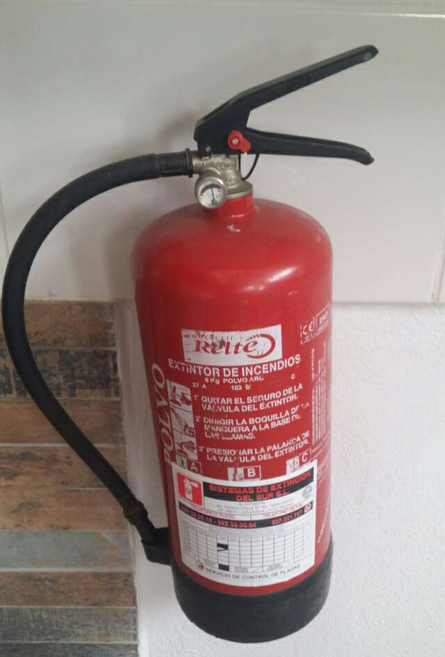 Imagen Extintores, certificacion gratis