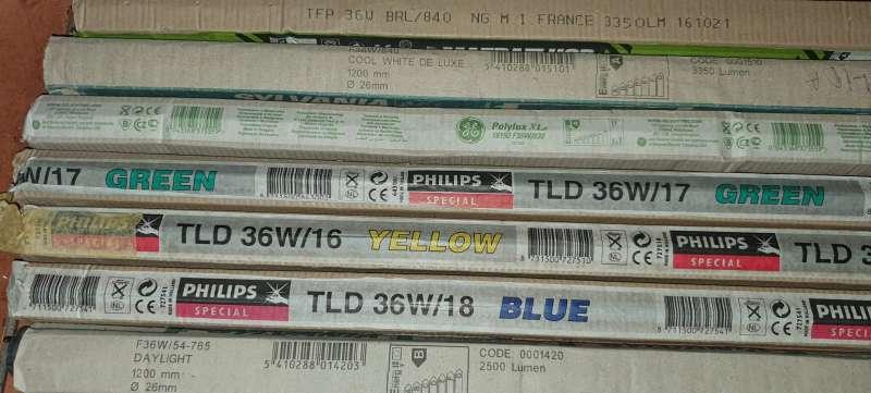 Imagen producto Súper Lote de 98 Flexos Fluorescentes Distintos 4