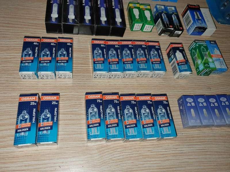 Imagen producto Súper Lote De 50 Unidades Halógenos, Tubulares ... 5