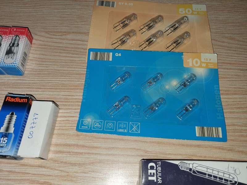 Imagen producto Súper Lote De 50 Unidades Halógenos, Tubulares ... 2