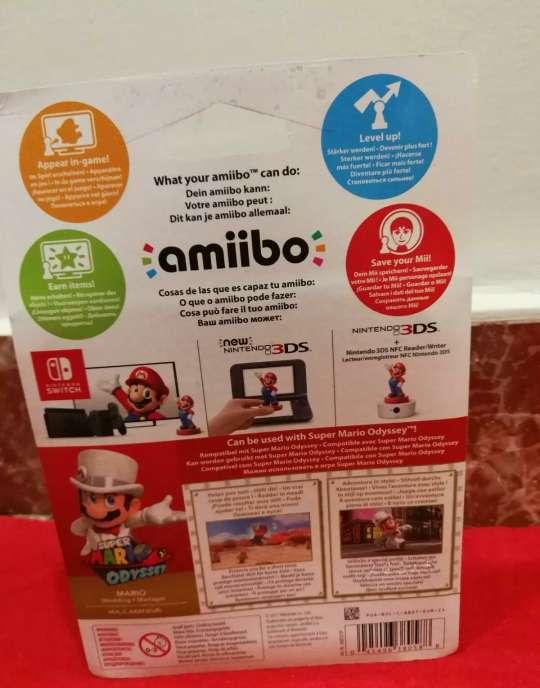 Imagen producto Amiibo Mario Bros Oddyssey 4