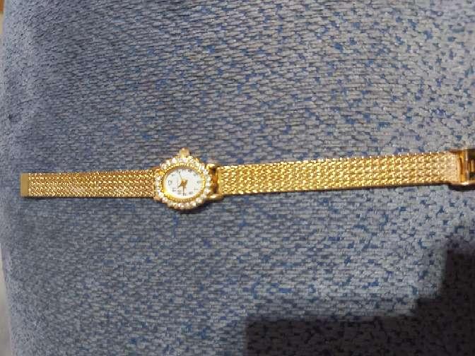 Imagen reloj de oro