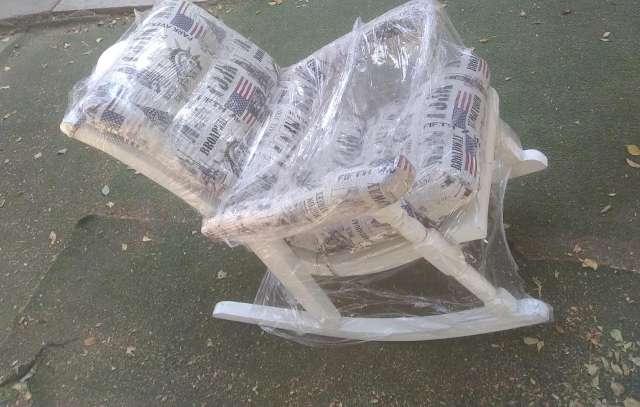 Imagen Elegante silla mesedora