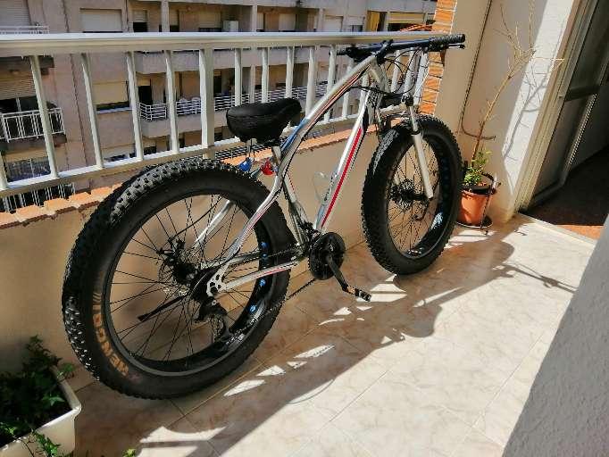 Imagen producto Bicicleta Fatbike bull brown 2