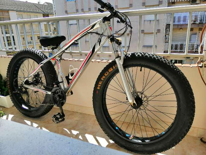 Imagen Bicicleta Fatbike bull brown