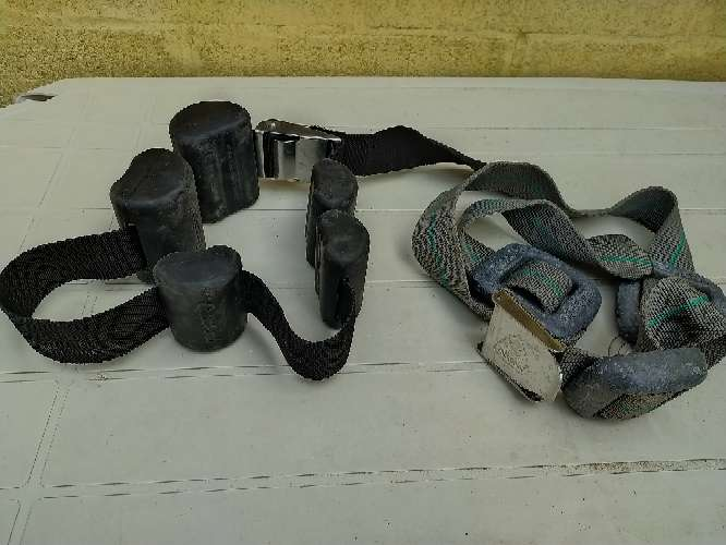 Imagen cinturónes de plomo